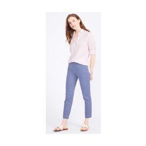 J. McLaughlin Blush Pink Linen Button Down 2